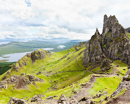 Rough and Wild Highlands Inspiration