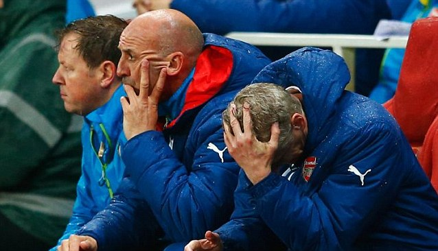 Injuries have crippled Wenger's options