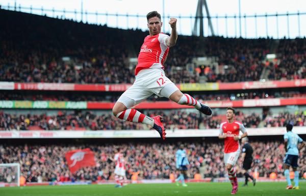 Olivier celebrates and wonder striker v Hammers