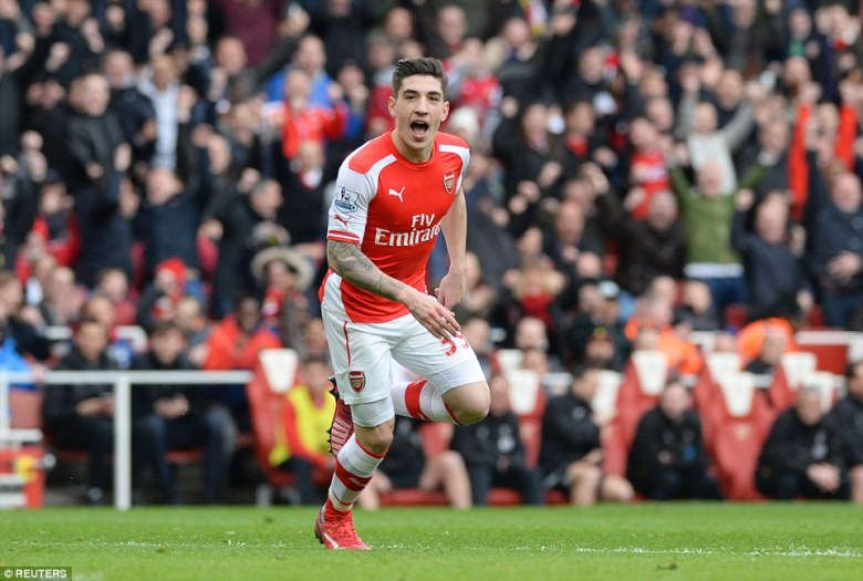 Hector Bellerin is the revelation of the season.