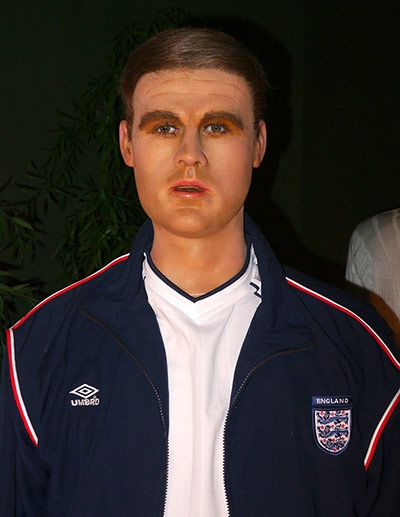 The wax Michael Owen isn't much better...