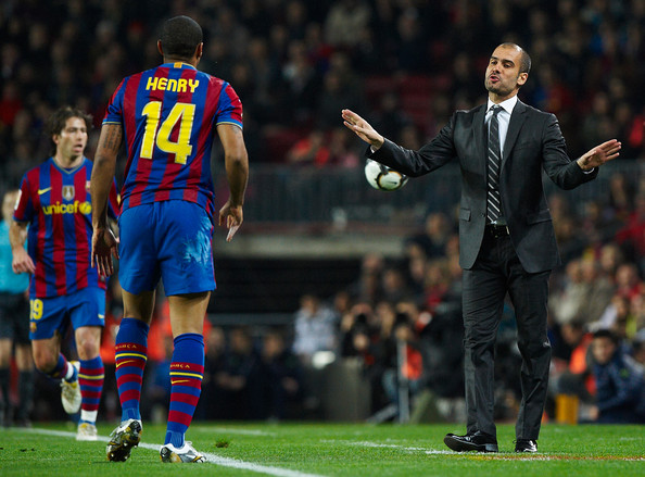 Pep and Thierry or both?