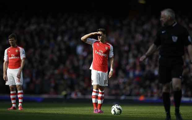 Not a luxury: Ozil created 70 chances in 22 appearances this season.