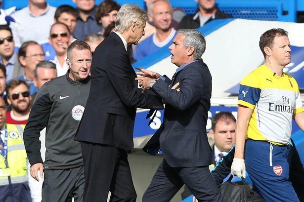 Wenger mourinho