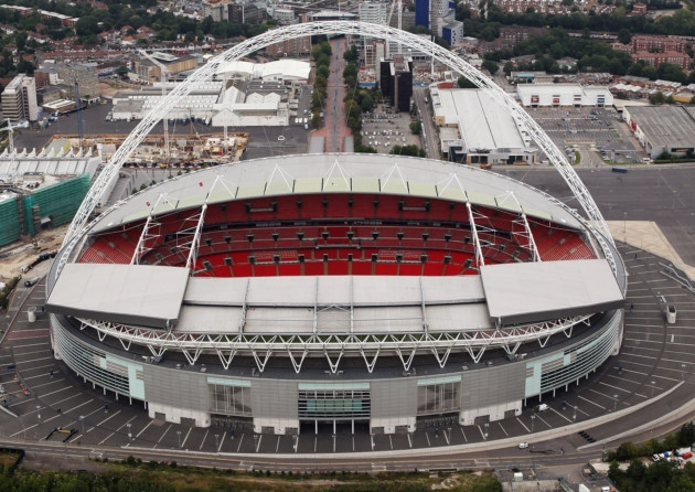 Still on track to keep Wembley Red...