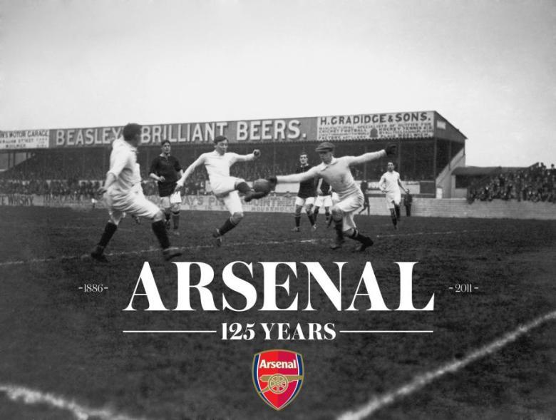 Arsenal's 125 years anniversary