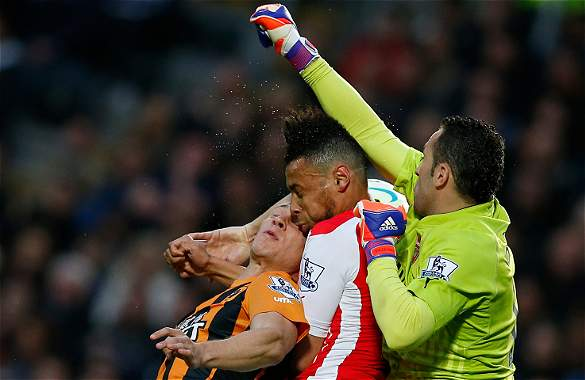 Ospina unlucky not to keep a clean sheet