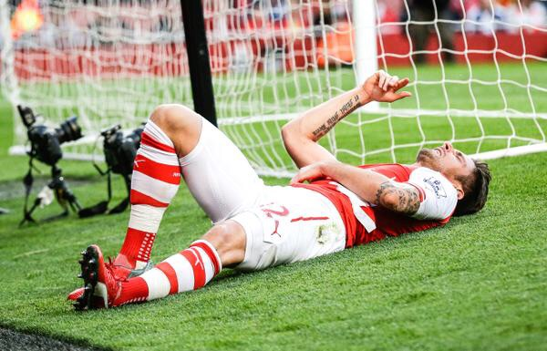 Down and out... Did Giroud peak too soon?
