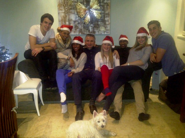 The Rocastles and the Smiths at Christmas