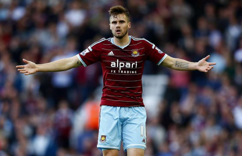 A Gooner shines for Hammers