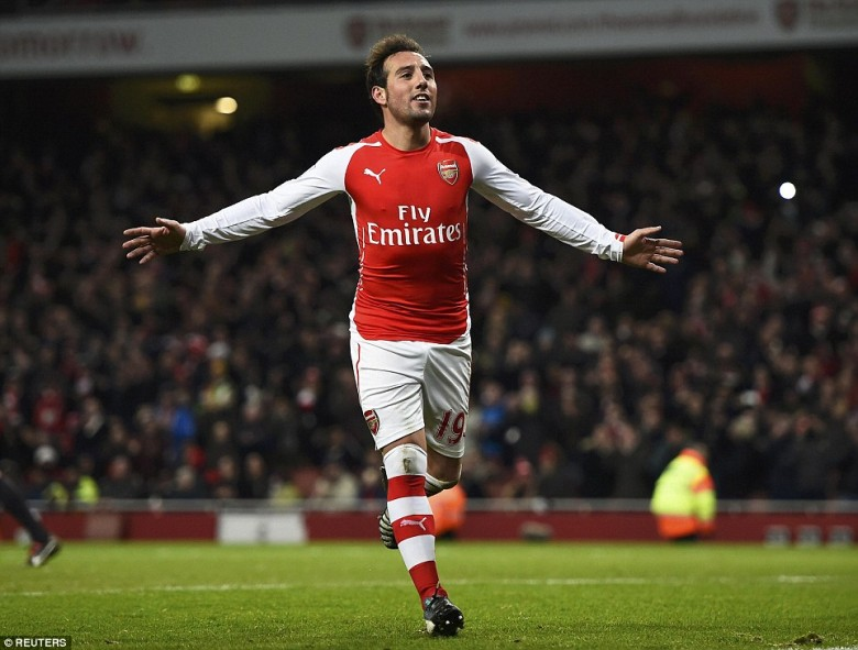 Santi has been excellent centrally