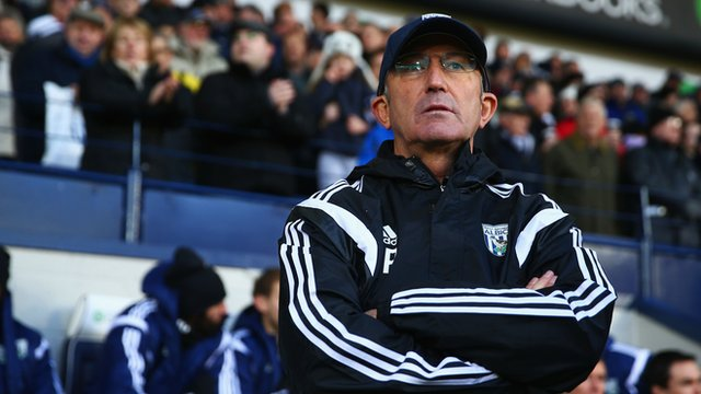 Tony Pulis: can he be the answer West Brom are looking for?
