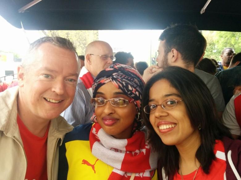 With :goonerdave66 and  @bureemi Bee