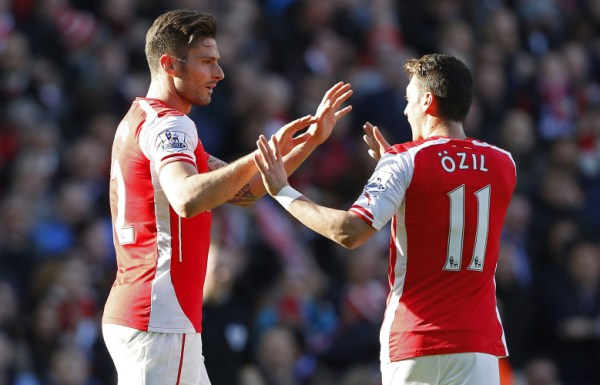 Arsenal's attack lucky to have Ozil.