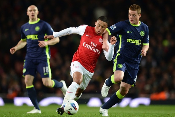 With his speed and skill, Alex is a less predictable Alexis...