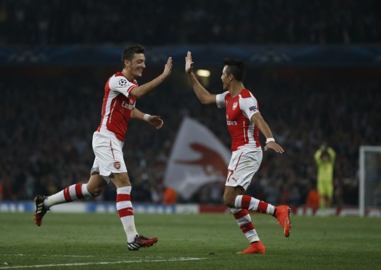 Özil - Alexis... the next Bergkamp-Henry?