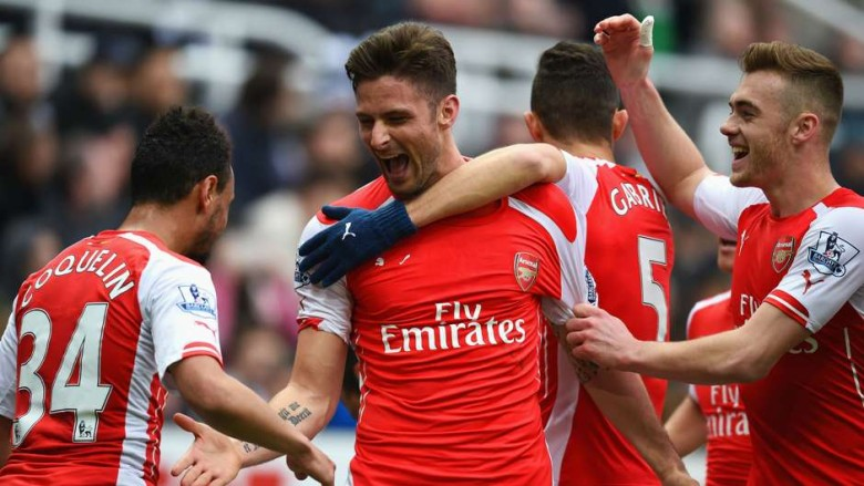 Giroud vs Newcastle