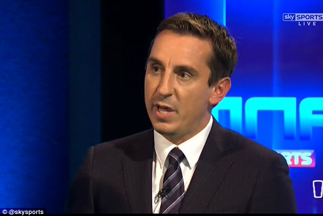 Gary Neville spelling out some hard truths on Sky