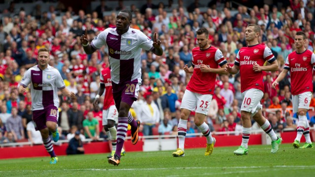 The last time Arsenal lost at home on opening day was to Villa - another claret-and-blue team...