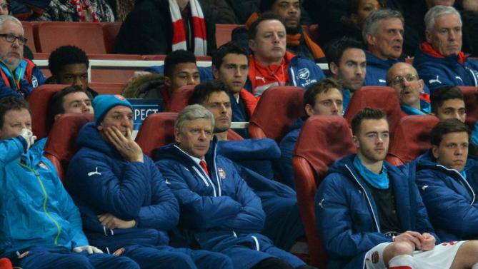 Wenger often looks like a passive observer