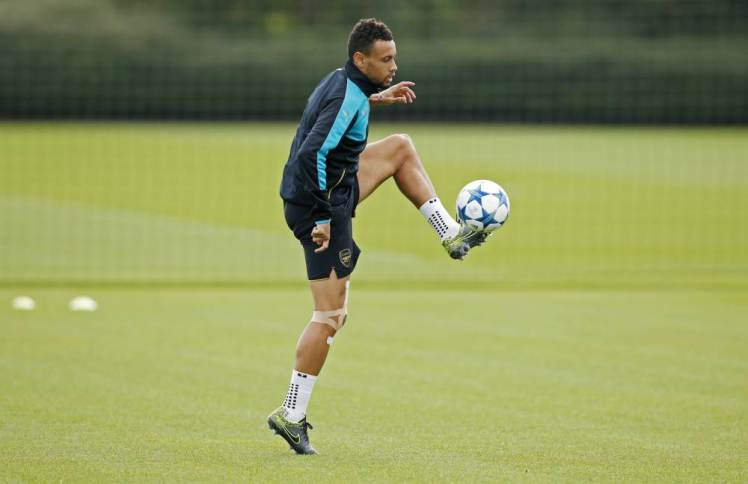 Coquelin in Training (Courtesy of Metro)
