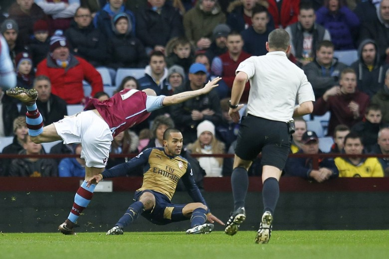 Theo won the penalty