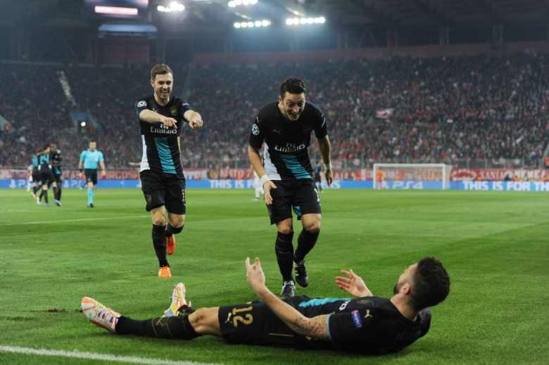 Olivier Giroud, the hat-trick hero