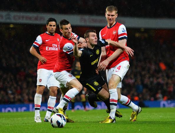 Man-handling in the Penalty area always dangerous