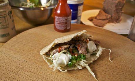 Left over kebab
