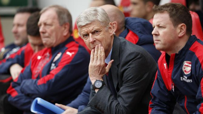 City think we need a change of direction from Wenger