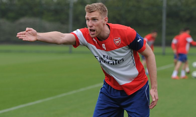 Per a leader on the training pitch