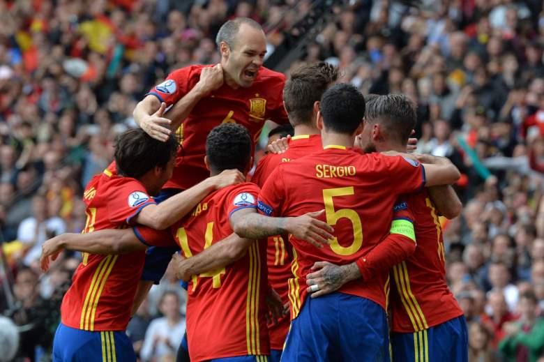 Spain dominated Turkey