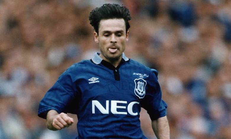 Anders in his Everton days