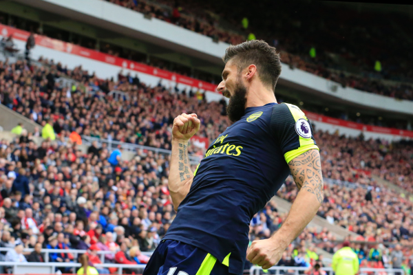 Giroud's impact off of the bench highlighted the squad's depth