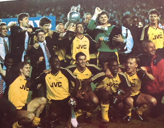 The victorious 1989 title winners