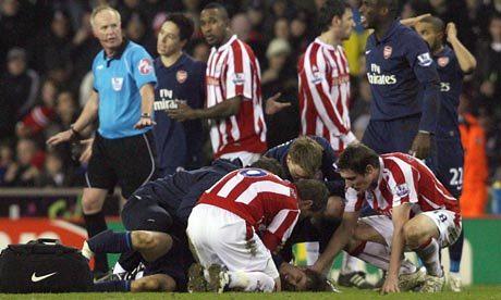 Injury v Stoke