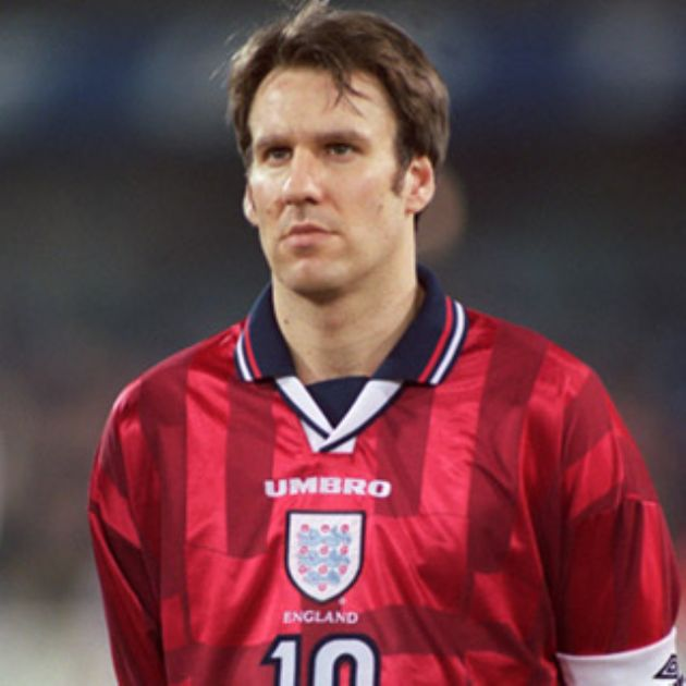 Merse playing for England