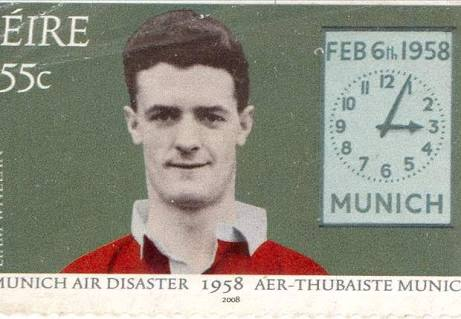 Liam Whelan - Ireland and Manchester United footballing hero, lost in the Munich Air Disaster