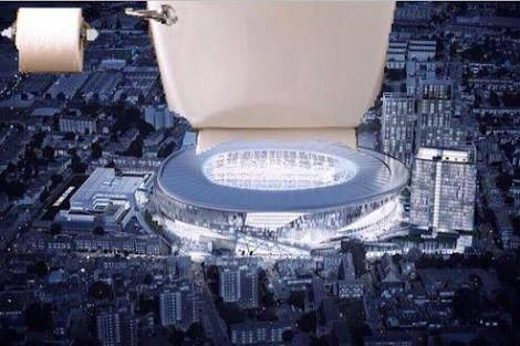 Spurs Toilet Stadium
