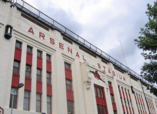 Arsenal Stadium - East Stand - Facade