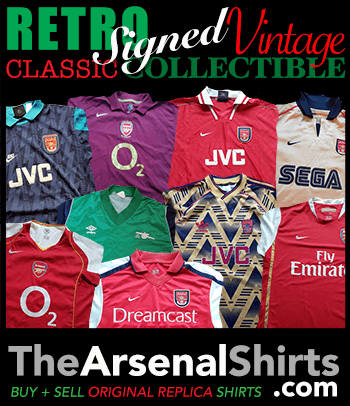 Click to visit www.TheArsenalShirts.com