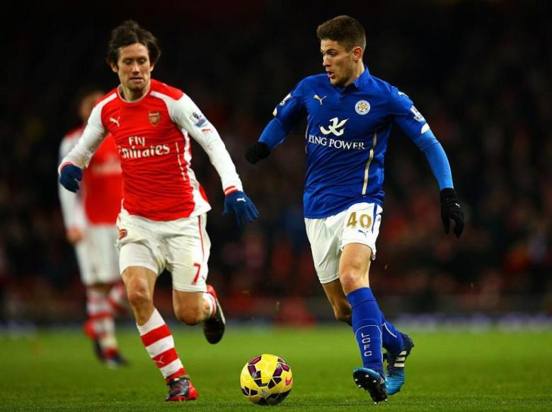 Kramaric in his Leicester days