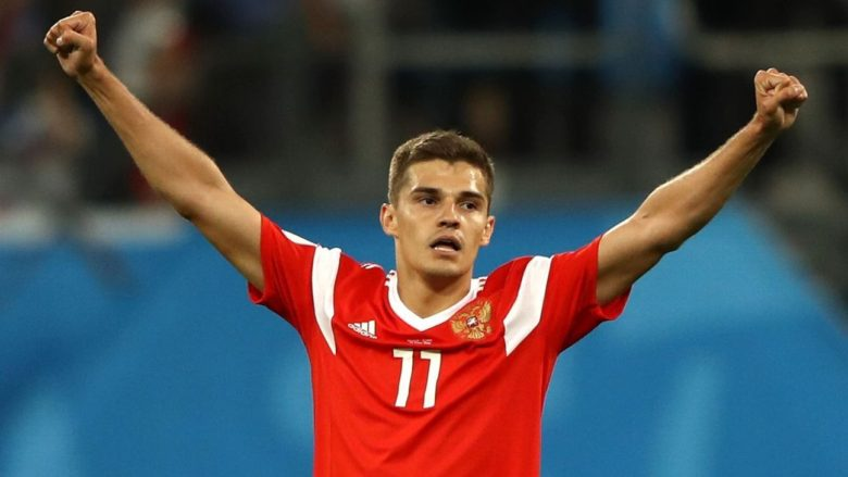 Roman Zobnin was MOTM in Russia's Egypt clash
