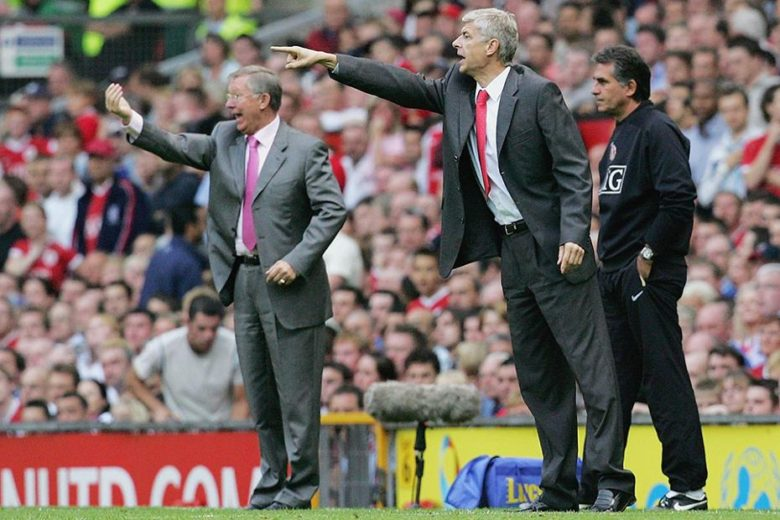 Two great managers pointing the way to their teams