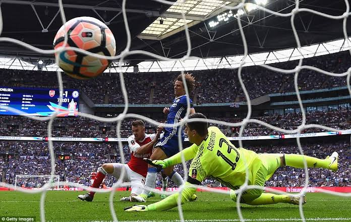 Ramsey FA Cup Chelsea