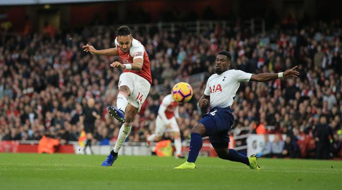 aubameyang arsenal spurs