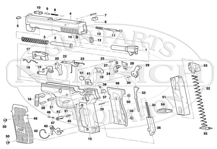 Blackwater Sig Sauer P220 Grips