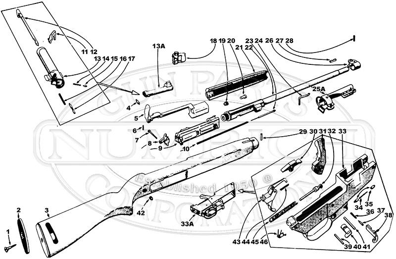 M2 Carbine Parts Diagrams Wiring