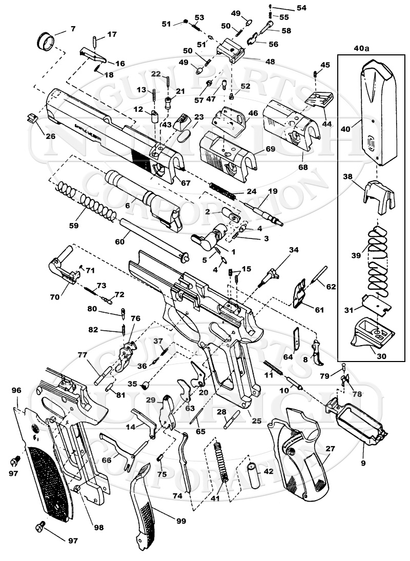 Smith And Wesson M P 15 22 Parts Diagram