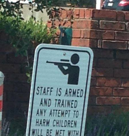 Staff is Armed and Trained